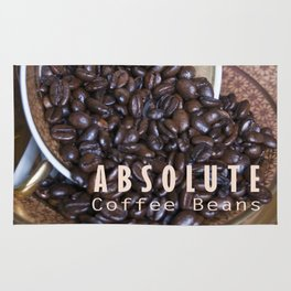 COFFEE BEANS with Blue Artichoke Rug