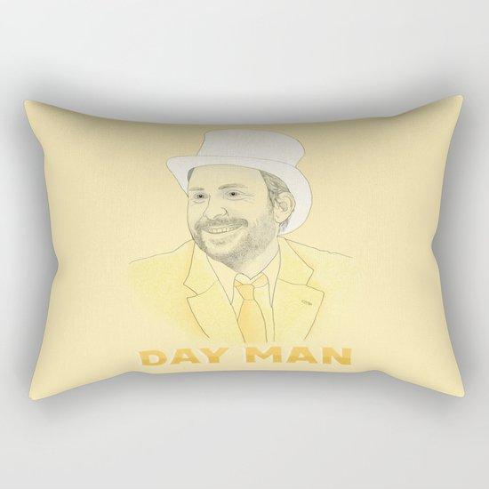 Day Man Rectangular Pillow