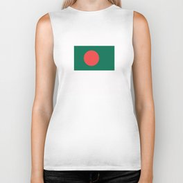 bangladesh country flag Biker Tank