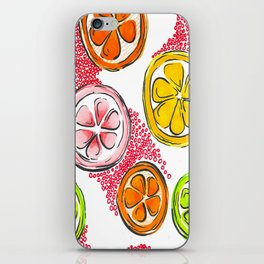 Citrus Paradise iPhone Skin
