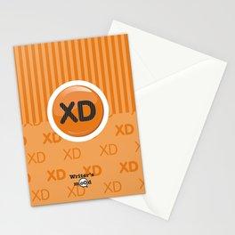 Orange Writer's Mood Stationery Cards