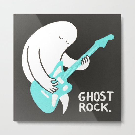 Ghost Rock Metal Print