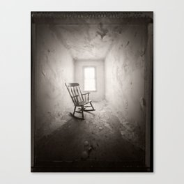 Without Canvas Print