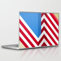 flag Laptop & iPad Skins featuring Flag by Ryan Winters