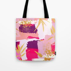 Abstract Nature Painting Tote Bag