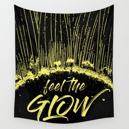 Feel the Glow // moonlight version Wall Tapestry