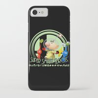 smash bros iPhone & iPod Cases featuring Olimar - Super Smash Bros. by Donkey Inferno