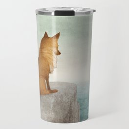 The Day the Antlered Ship Arrived Travel Mug