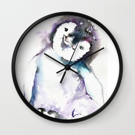 HAPPY PENGUIN Wall Clock