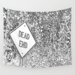 Dead End Wall Tapestry