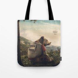 Wonderful World of Teddy Tote Bag
