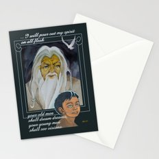 I Will Pour Out My Spirit Stationery Cards