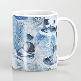 Shells V03 BLUE Coffee Mug