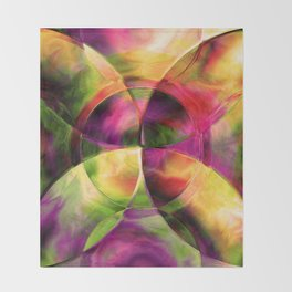 Every New Beginning Comes From Some Other Beginnings' End 3 Throw Blanket