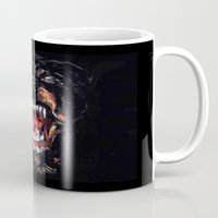 givenchy Mugs featuring Givenchy Dog by I Love Decor