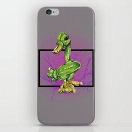 Green Duck-Wild World of Balloons iPhone Skin