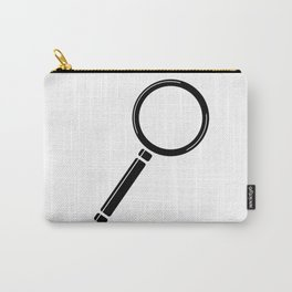 Magnifying Glass Cartoon Carry-All Pouch