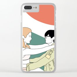 moonrise kingdom Clear iPhone Case