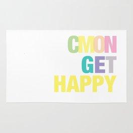 Cmon Get Happy Rug