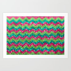 Candy Wonderland Art Print