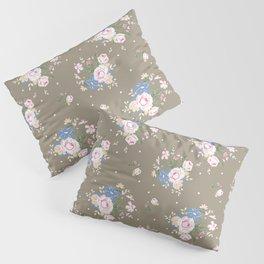 Heirloom Rose - Raw Umber Pillow Sham