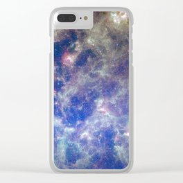 Large Magellanic Cloud, infrared 2 Clear iPhone Case