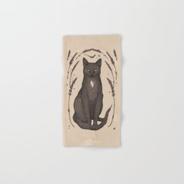 The Cat and Lavender Hand & Bath Towel