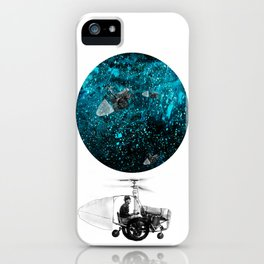 walk in space iPhone Case