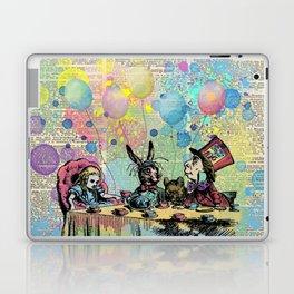 Tea Party Celebration - Alice In Wonderland Laptop & iPad Skin