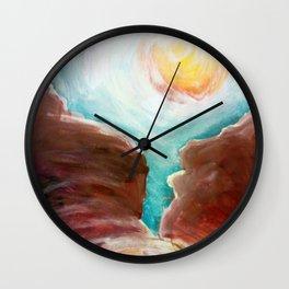 Mustard Seed Wall Clock