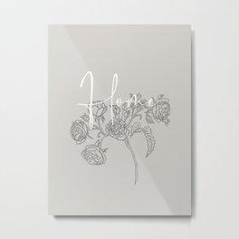Rose - Home Metal Print
