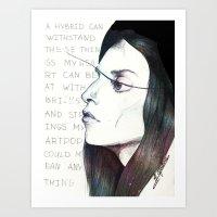 artpop Art Prints featuring ARTPOP by Dafni