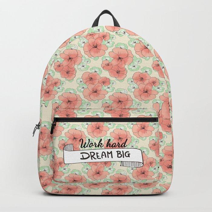 Work Hard Dream Big Backpack