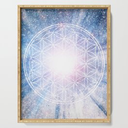 Sacred Geometry Nebulosa Serving Tray
