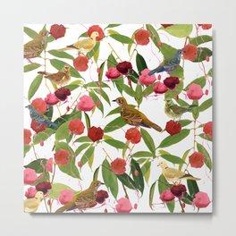 Birds in Nature Metal Print