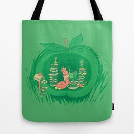 The Bookworm's Haven Tote Bag