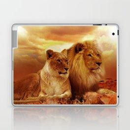 Lion couple   Couple de Lion Laptop & iPad Skin