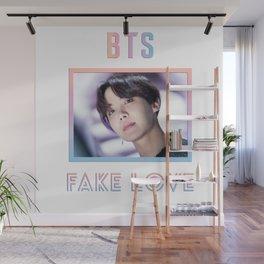 BTS Fake Love Design - JHope Wall Mural