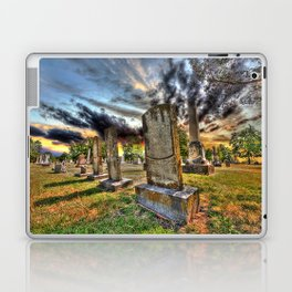Tombstones at Twilight Laptop & iPad Skin