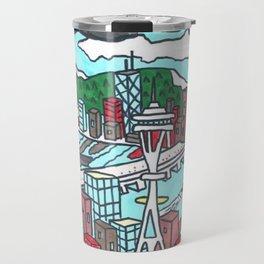 Seattle Daytime Travel Mug