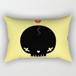 HEART BREAKER - ed. fact Rectangular Pillow
