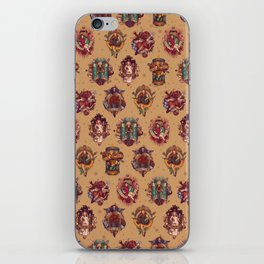 All Those Bright and Shining Companions iPhone Skin