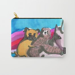 kawaii squad pug sloth unicorn Carry-All Pouch