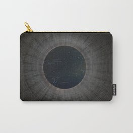 Looking up a Nuclear Cooling Tower Carry-All Pouch