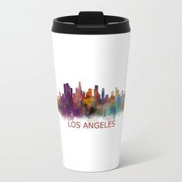 Los Angeles City Skyline HQ v2 Travel Mug