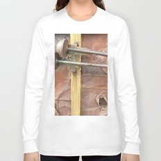 Rusty metal horns Long Sleeve T-shirt