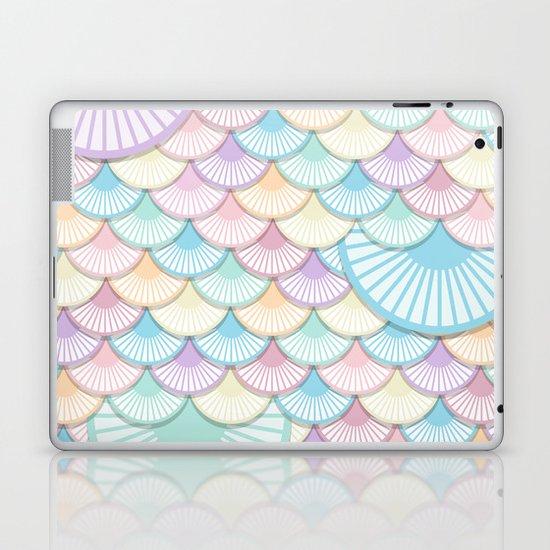 Pastel Wagon Wheels Laptop & iPad Skin