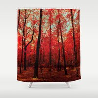 true blood Shower Curtains featuring True North by bomobob
