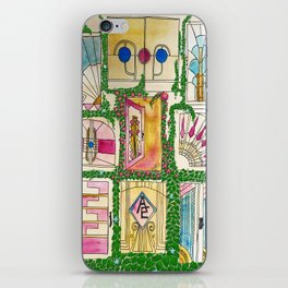 """Break on through to the other side"""" - or, you know, walk through the door iPhone Skin"""