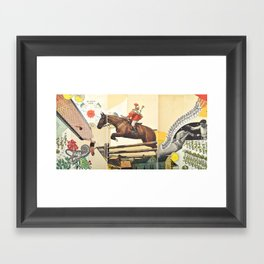 Don't Carry It All Framed Art Print